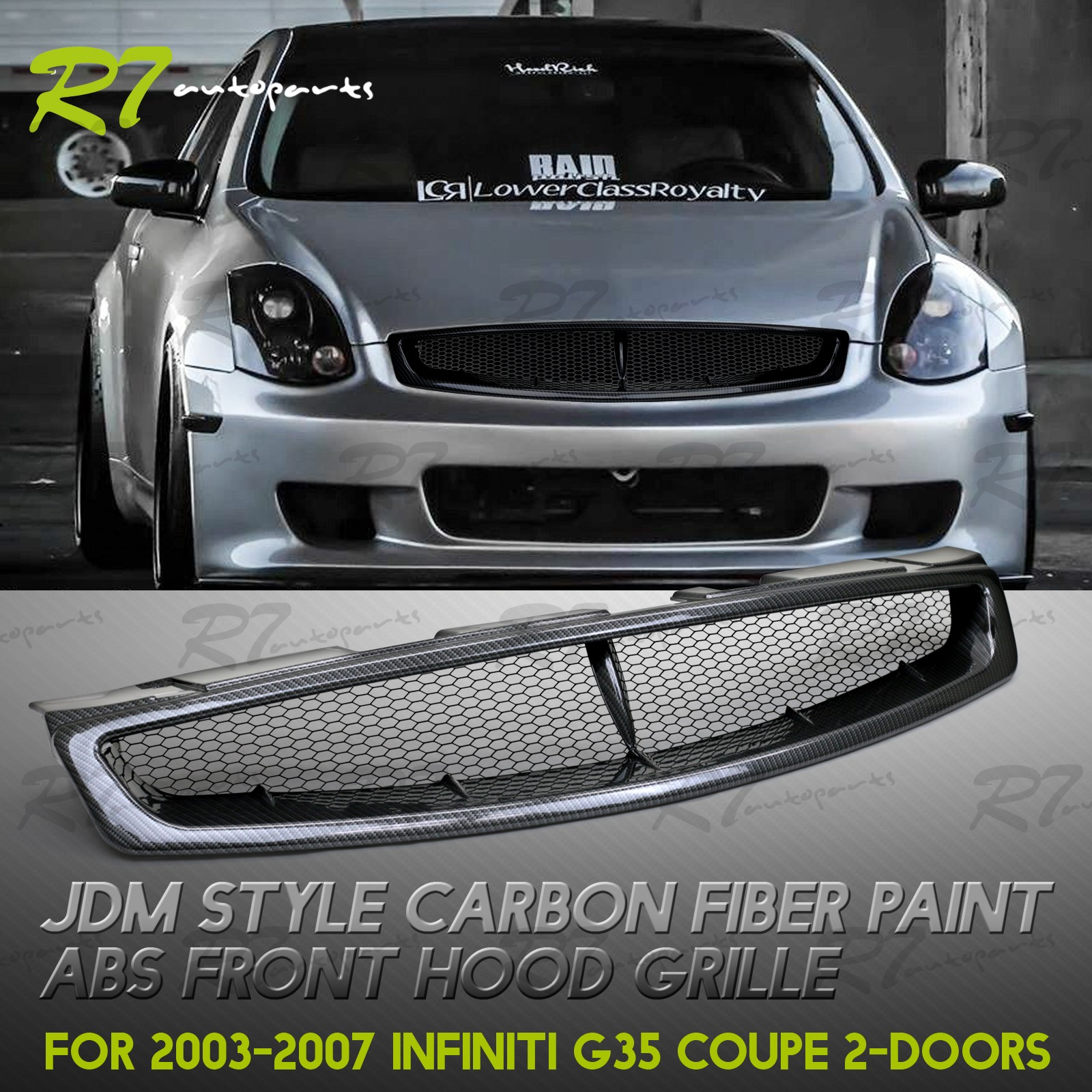 INSTANTLY IMPROVE THE FRONT LOOK OF YOUR CAR!